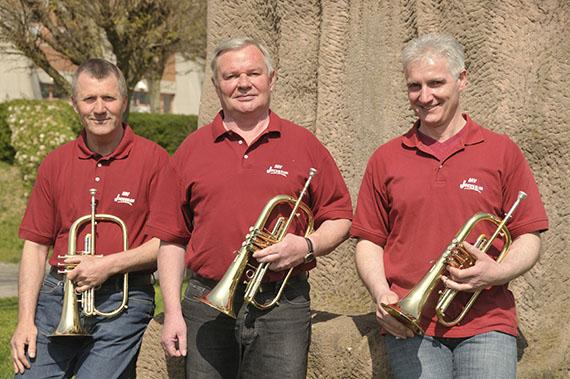 v. l.: Günther Walther, Paul Keiber und Bernhard Kempf